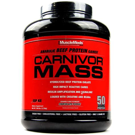 Carnivor Mass 10 Lbs Chocolate musclemeds carnivor mass chocolate fudge 5 7 lbs evitamins singapore