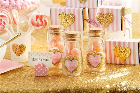 Gold Baby Shower Favors by How To Throw The Cutest Pink And Gold Baby Shower Kate