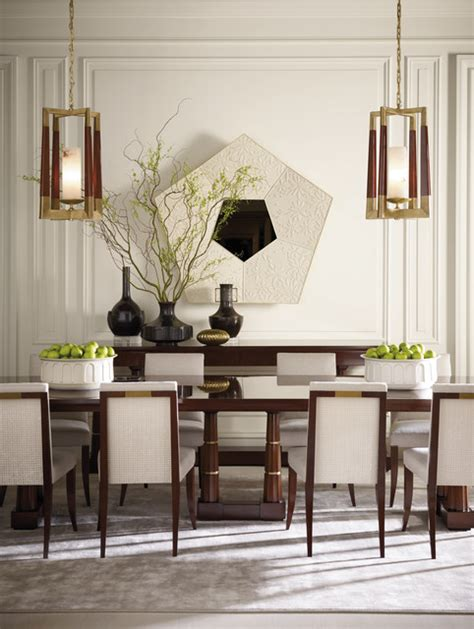 Baker Dining Room Furniture The Pheasant Collection Baker Furniture Modern Dining Room By Baker Furniture