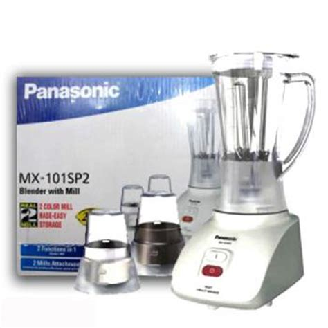 Blender Panasonic Glass Mx 101 1 L panasonic blender mx101sp2 in pakistan hitshop
