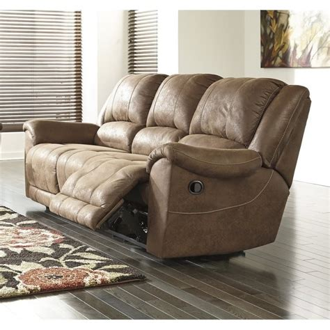 Faux Leather Recliner Sofa Faux Leather Reclining Sofa Smileydot Us