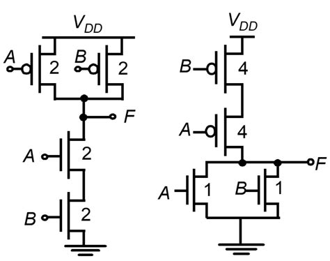 transistor nor gate circuit digital logic why is nand gate preferred nor gate in industry electrical engineering