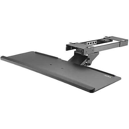 Adjustable Keyboard Tray Desk by Startech Desk Keyboard Tray Adjustable Office
