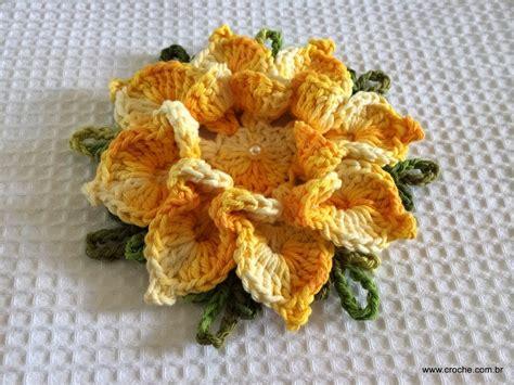 flores de crochet flor bico de papagaio passo a passo crochet crochet