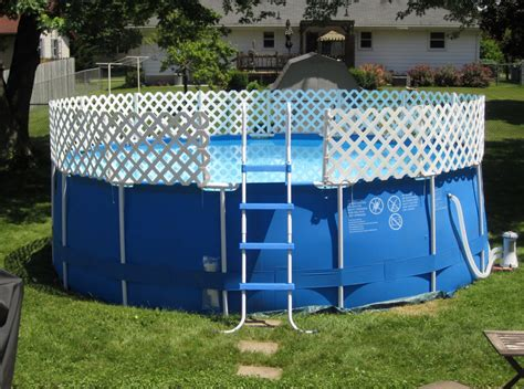 swimming pool fence ideas above ground swimming pool fencing pool design ideas