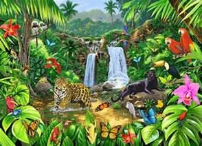 Cheetah Decorations For Bedroom Rainforest Harmony