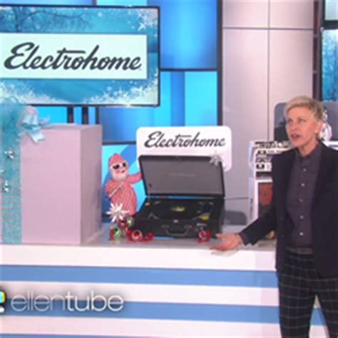 Ellen Degeneres 12 Days Of Giveaways 2014 - the ellen degeneres show teams up with electrohome for a musical surprise on ellen s