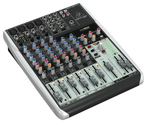 Mixer Audio Behringer 6 Channel behringer q1204usb 6 channel mixer