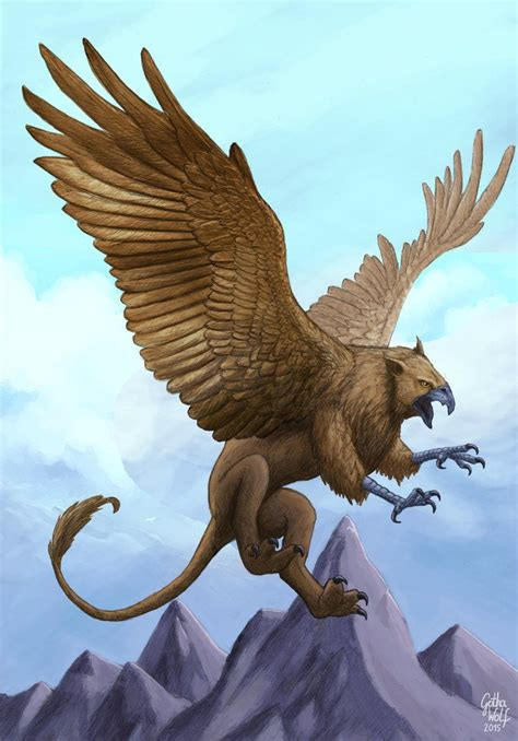 griffin and chimera myth gryphon mythical creature