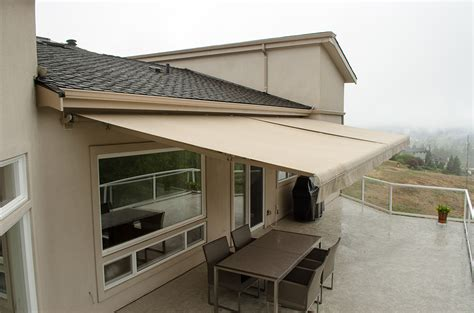 retractable sun awning retractable deck awnings rainier shade