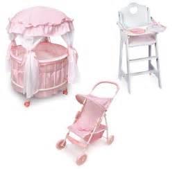 Cribs For Dolls by Badger Basket Royal Pavilion Doll Crib Furniture Set By Oj