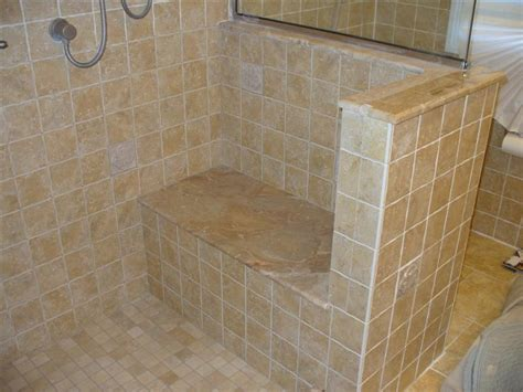 tiled shower with bench tiling shower and seat page 3 tiling contractor talk
