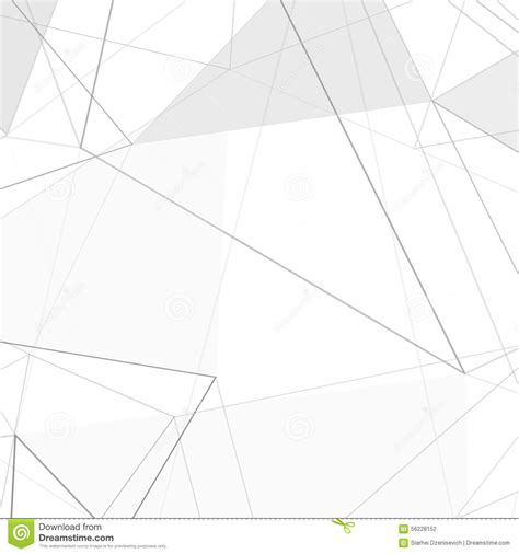 triangle layout vector contemporary hi tech abstract triangle design layout stock