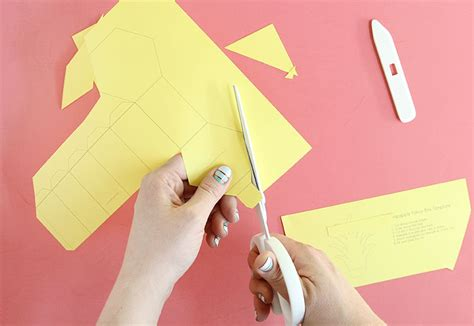 How To Make A Pineapple Out Of Paper - gift box template diy pineapple treat boxes consumer crafts