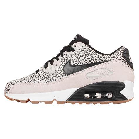 nike air max 90 womens running shoes wmns nike air max 90 prem premium safari black womens