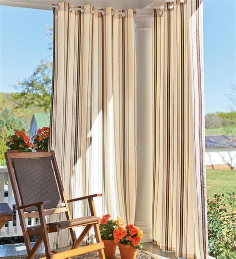 Outdoor Patio Curtains Outdoor Curtains Outdoortheme