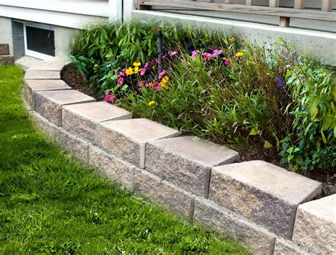 garden wall garden wall 4 libertystone hardscaping systems