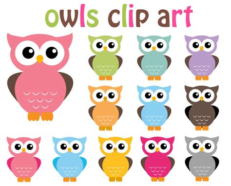 clipart owl buy 2 get 2 free owl clip clipart 12 digital