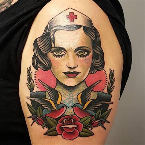 tattoo flash nurse see this instagram photo by billy raike tattoos 70