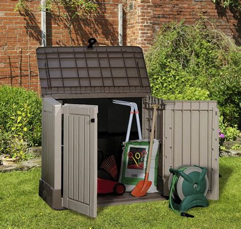Outdoor Plastic Shed by Best 20 Keter Plastic Sheds Ideas On Outdoor
