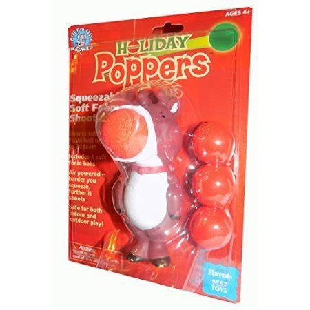 christmas poppers with reindeer toys poppers 5 quot inch mini reindeer ideal stuffer unique and innovative children s