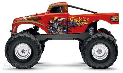 traxxas jam trucks traxxas captain s curse jam truck