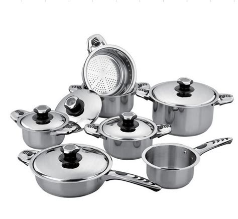 Panci Set Stainless Cookware 12pcs 12pcs stainless steel cookware set id 5092656 product details view 12pcs stainless steel
