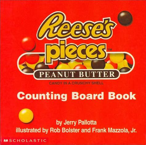 Counting Board Book reese s pieces counting board book by jerry pallotta