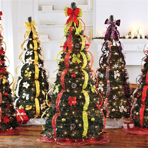 Fully Decorated Artificial Trees by 1000 Ideas About Pre Decorated Trees On