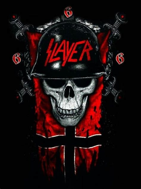 Slayer Rock Band Heavy Metal - slayer slayer god hates us all