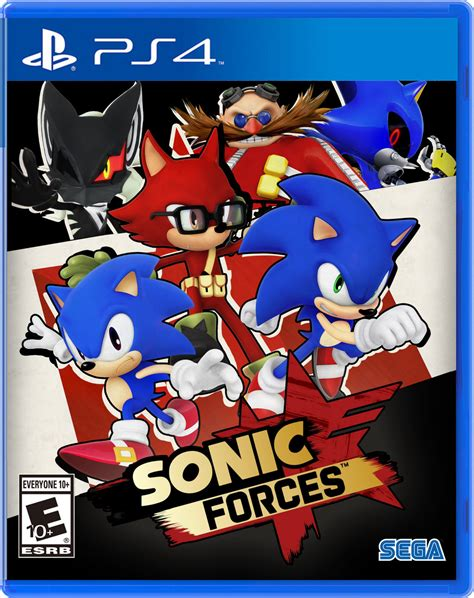 Ps4 Sonic Forces nibroc s sonic forces boxart ps4 version by nibroc rock on deviantart