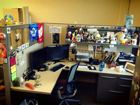 pixar cubicles is your desk cubicle office workshop etc decorated