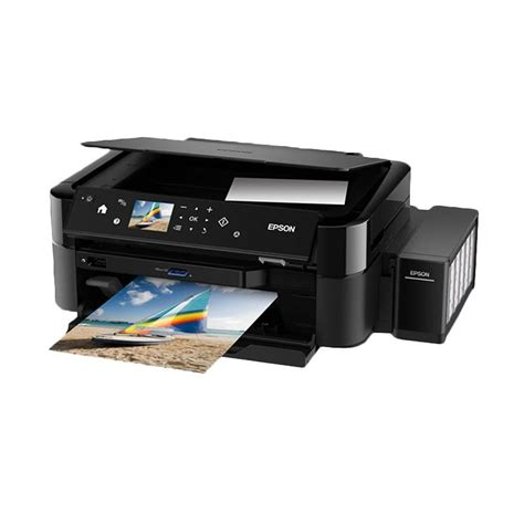 Printer Epson Multifungsi jual epson printer multifungsi l850 hitam print scan
