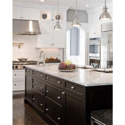 white kitchen island with black granite top kitchens gray walls white shaker kitchen cabinets black