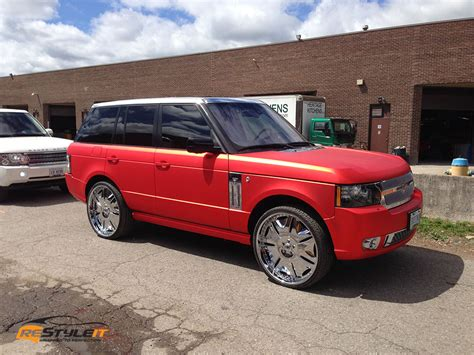 sport matte matte chrome range rover sport vehicle customization