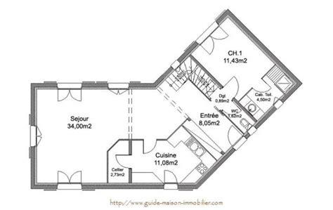 Idée Plan Maison En Longueur 3870 idee plan de maison ventana