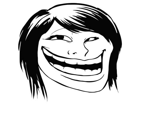 Know Your Meme Troll Face - image 102524 trollface coolface problem know