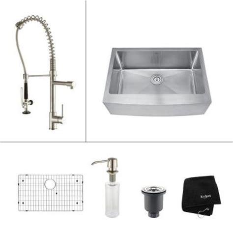 apron front kitchen sink view 1 ikea farmhouse sink kraus all in one farmhouse apron front stainless steel 30