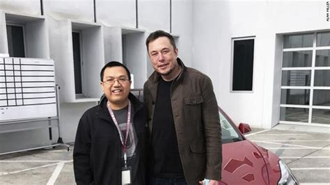 elon musk school tesla superfan with cancer gets to meet elon musk jan