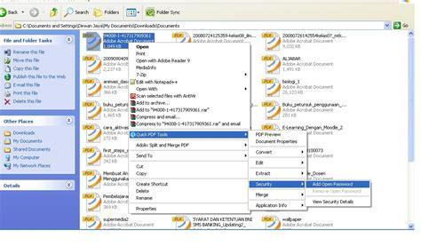 membuat watermark pada file pdf cara membuat file pdf dan memberikan password pada fie pdf