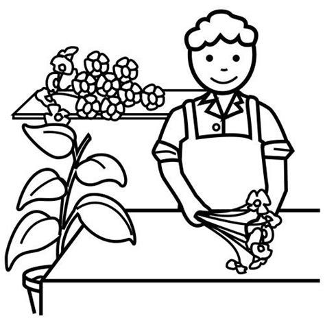 coloring shoo flower shop coloring