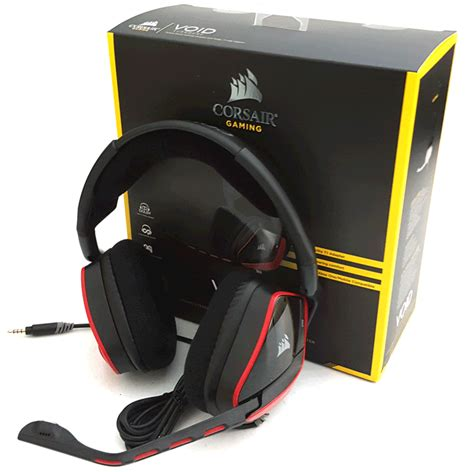 Murah Corsair Void Stereo Gaming Headset corsair gaming void surround dolby hybrid headset review
