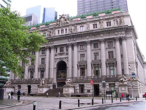 new york customs house alexander hamilton u s custom house bowling green lower manhattan new york city ny