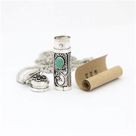 In The Bottle Necklace message in a bottle necklace by regalrose