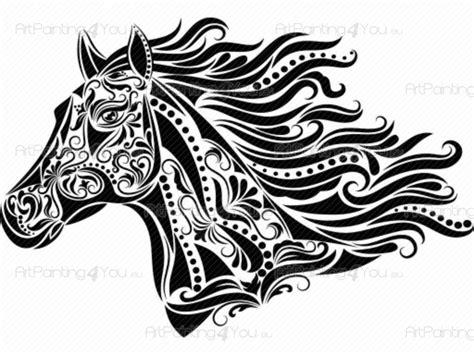 Wandtattoo Tiere Pferd (1143de)