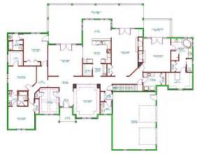Split Level Ranch Floor Plans Home Design 89 Excellent Split Level Floor Planss