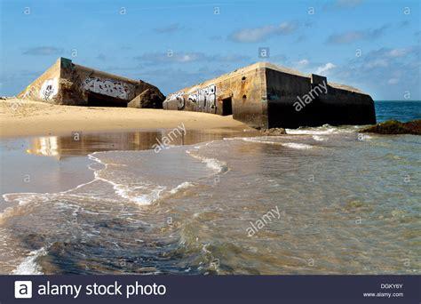 Dune Du Pyla Hotel 3961 by German Bunkers Sinking Into The Atlantic Dune Du