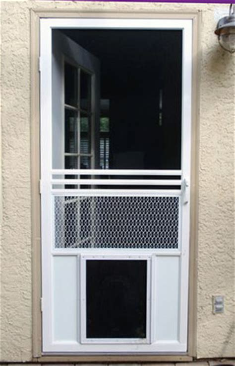 Exterior Door With Pet Door 25 Factors To Consider Before Installing Door For Screen Door Interior Exterior Ideas