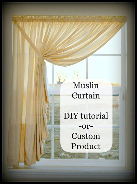 easy curtain tutorial easy diy pattern tutorial for muslin swag curtain