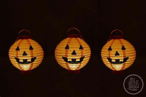 O Lantern Paper Craft - o lantern craft for the gold jellybean